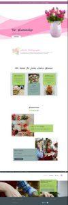Blumenshop Homepage | Referenz de-serve