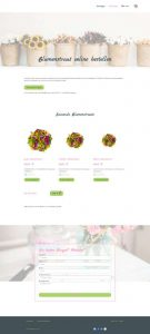 Blumenshop Kategorieseite | Referenz de-serve